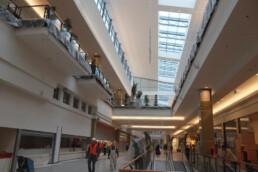 Einkaufszentrum in Krakau mit 145.000 m² Spannbetondecken